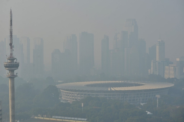 Kualitas Udara Jakarta Membaik Setelah Listrik Padam