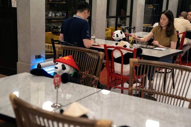 New Normal, Begini 7 Cara Unik Restoran Untuk Terapkan Physical Distancing pada Konsumen