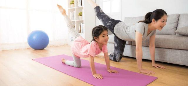 Kegiatan Di Rumah Bareng Anak Makin Menyenangkan, Lakukan Aktivitas Fisik Ini!