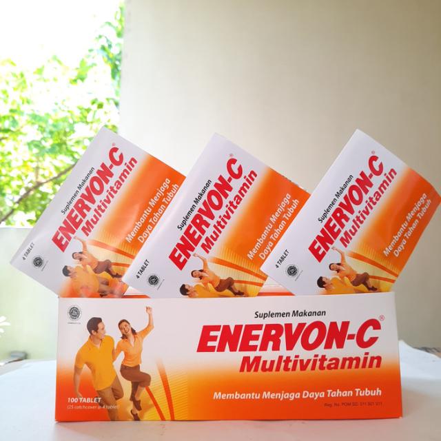 Enervon-C, Suplemen Vitamin C Penuh Manfaat dan Kaya Nutrisi Penting