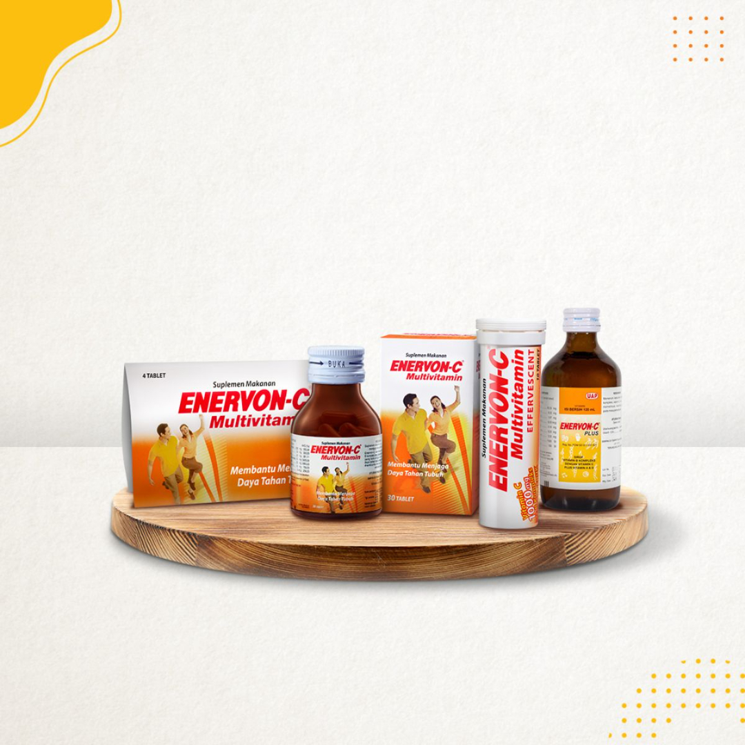 Enervon-C Effervescent, Suplemen Vitamin C Tepat Untuk Jaga Imun Tubuhmu!