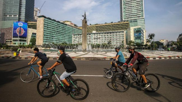 5 Rekomendasi Spot Foto Gowes di Jakarta. Instagrammable Abis!