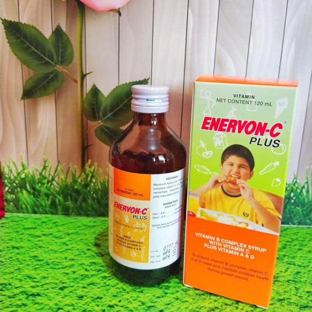 Enervon-C Plus Sirup, Suplemen Vitamin C Penuh Manfaat Untuk Tumbuh Kembang Si Kecil