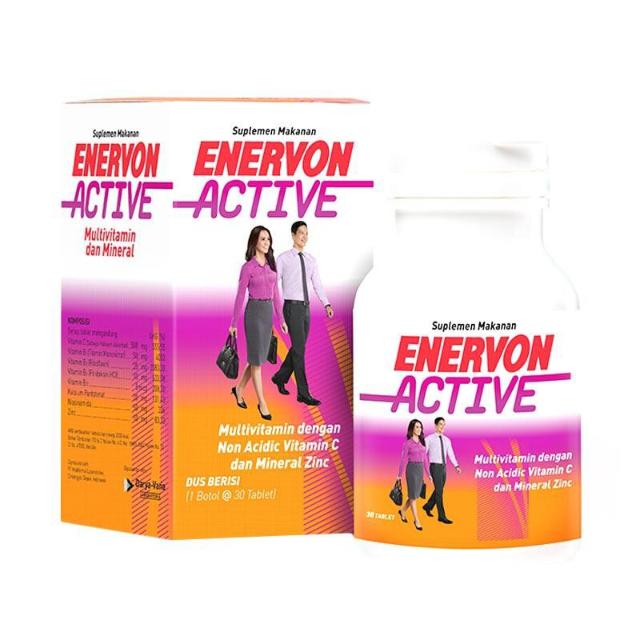 Mengenal Enervon Active, Multivitamin Untuk Jaga Imun Tubuh dan Stamina
